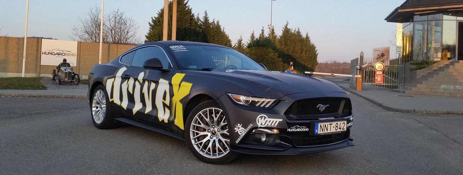 Mustang GT500 élményautózás Hungaroringen