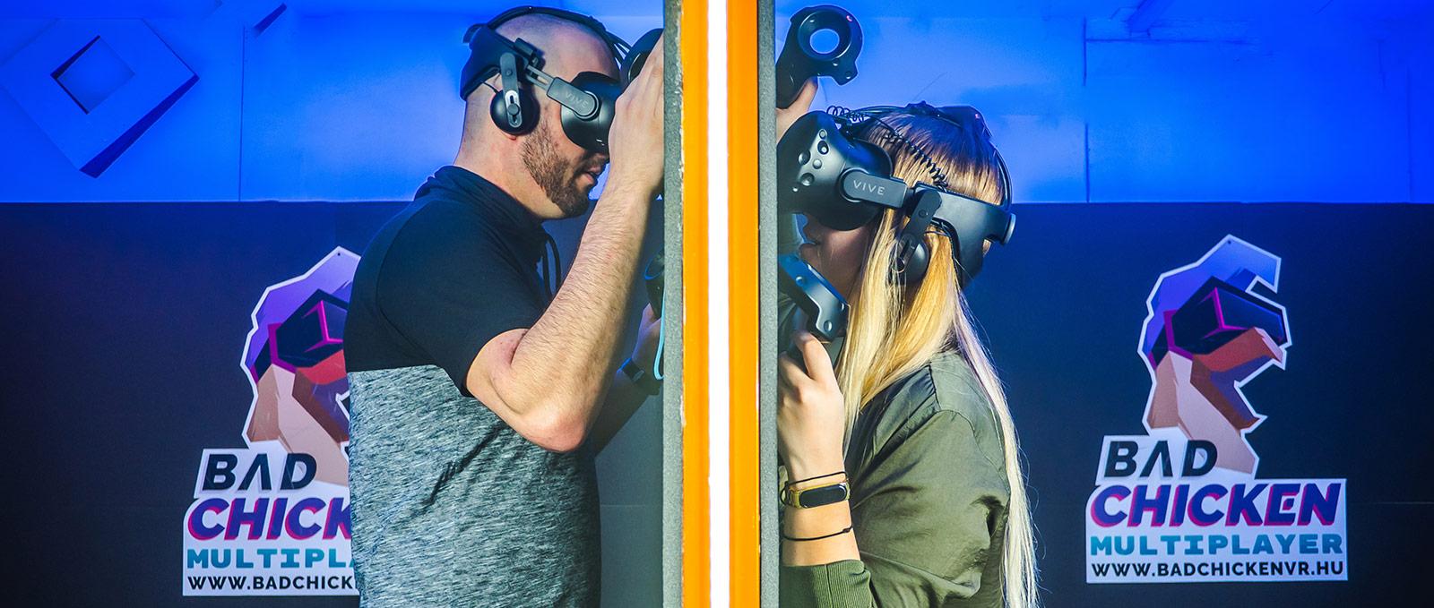 HTC Vive virtuális valóság játék