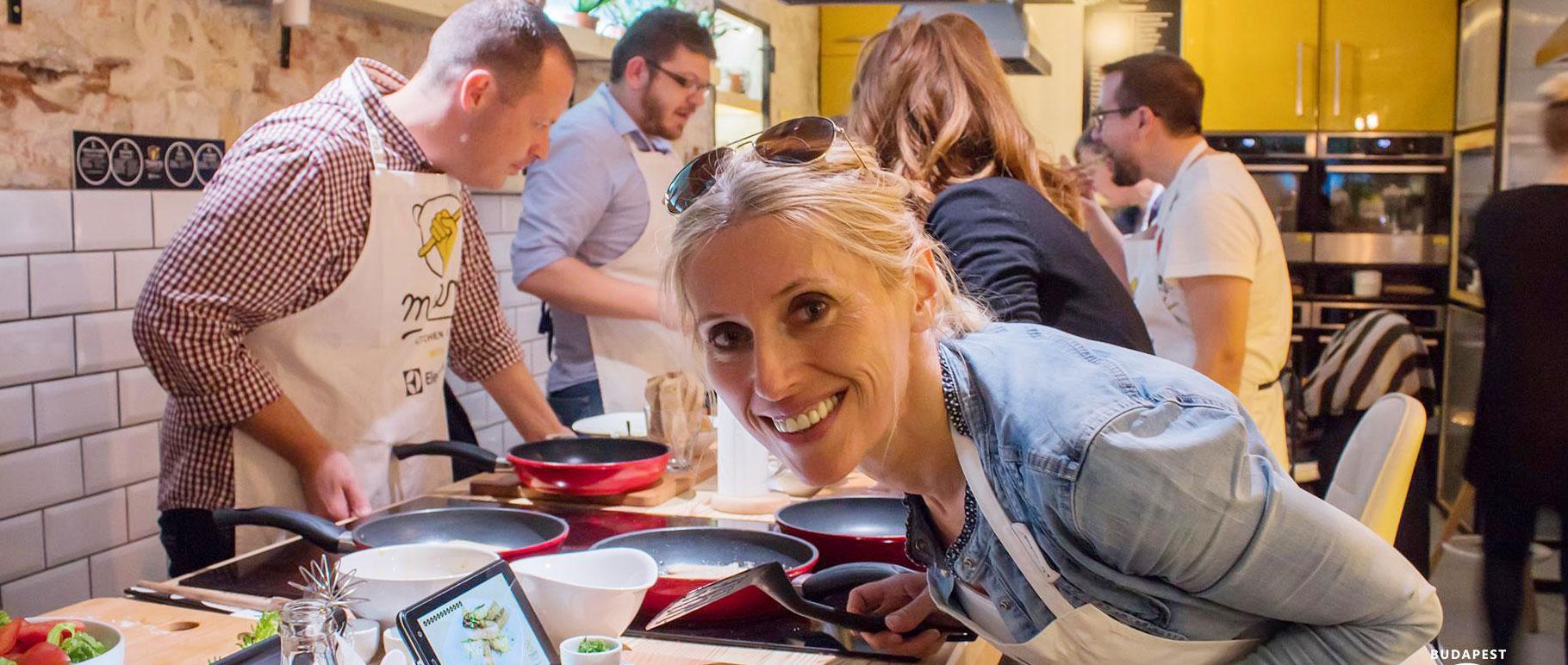 Budapest Makery, főzzetek finomat együtt ajándékkártya