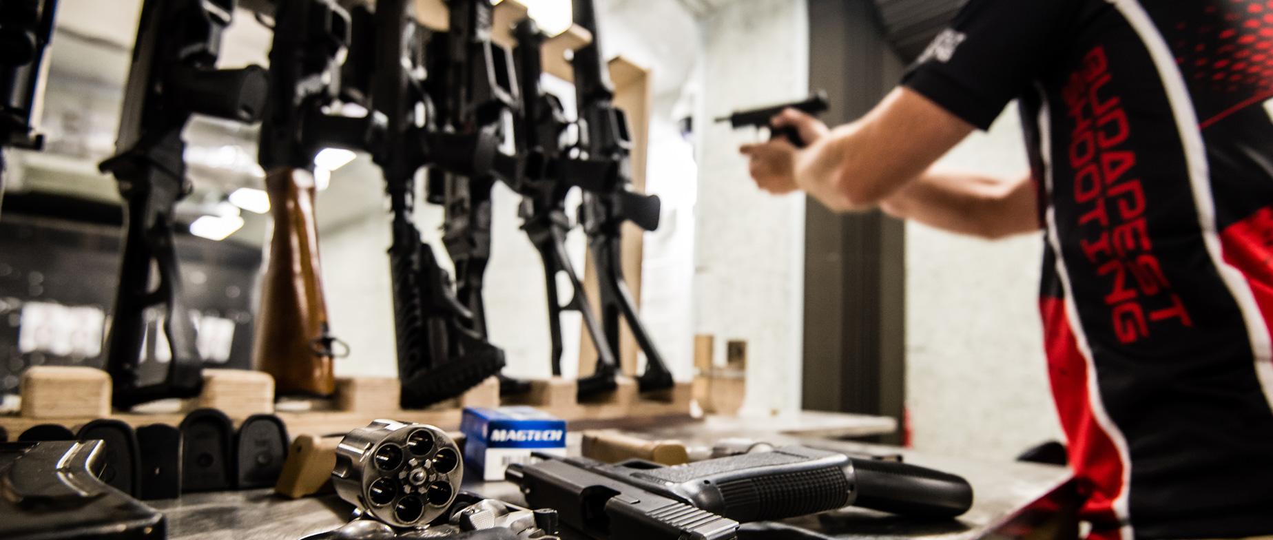 9 MM-es + Shotgun élménylövészet bővített csomag