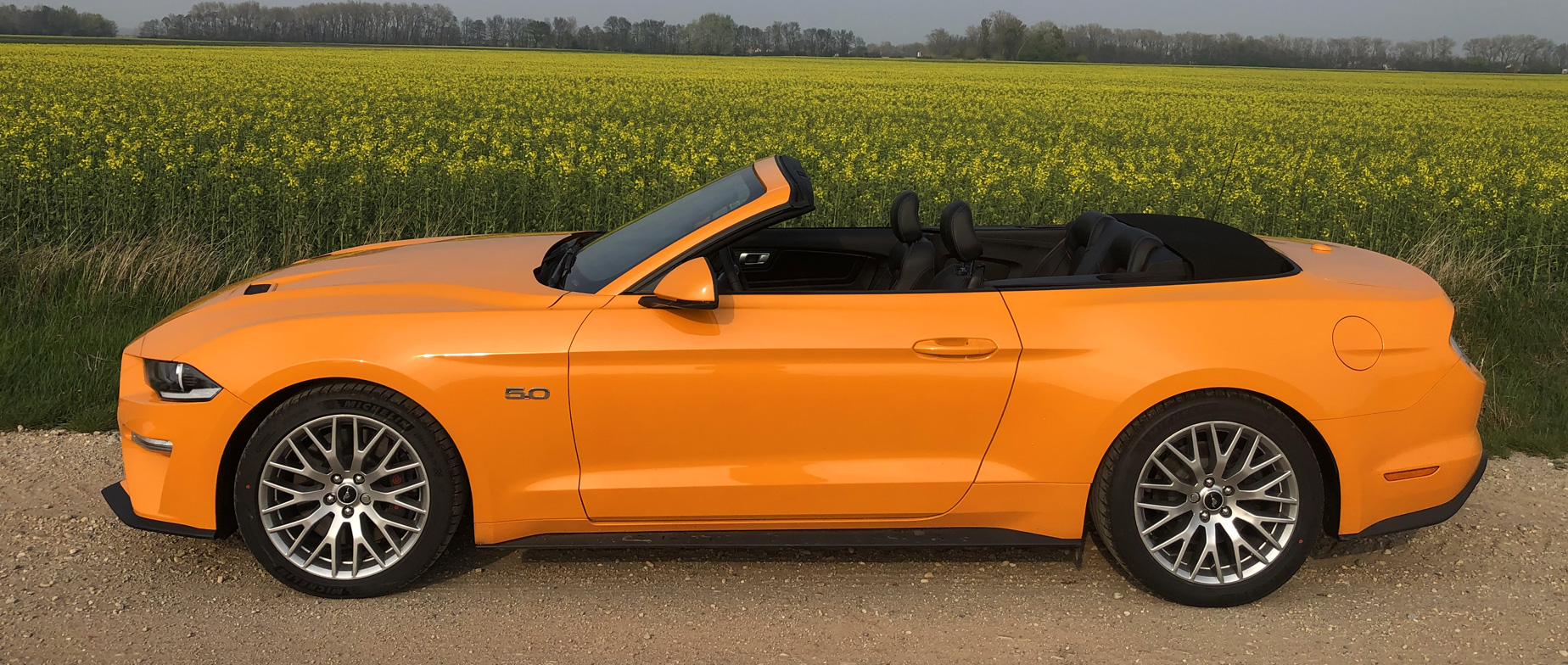 Ford Mustang Convertible GT 5.0 V8 élményvezetés