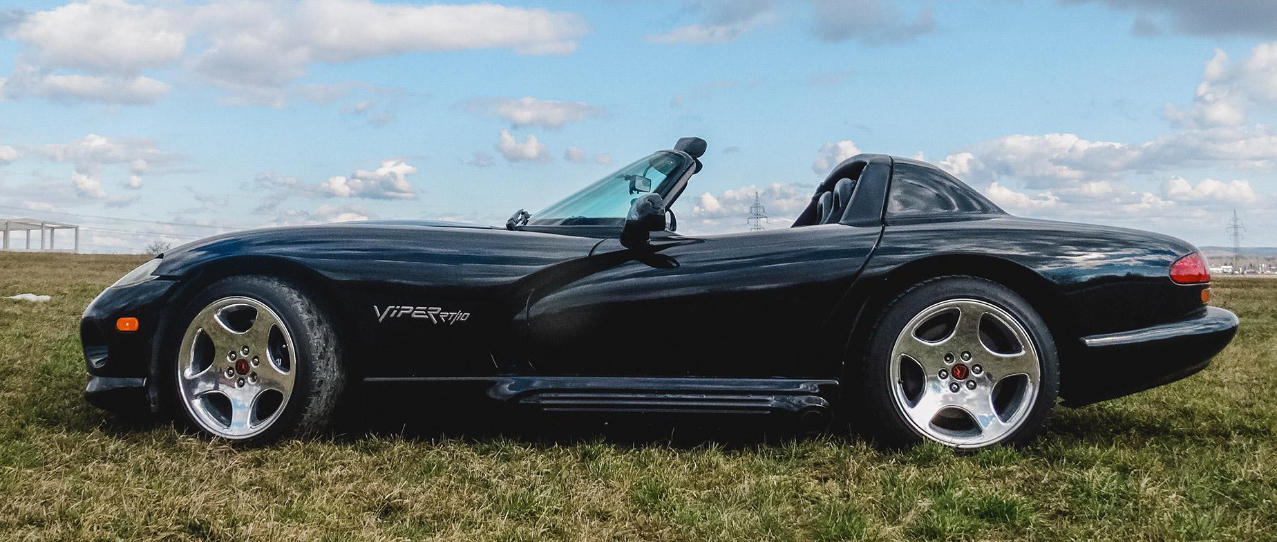 Dodge Viper élményautózás a Drx Ringen