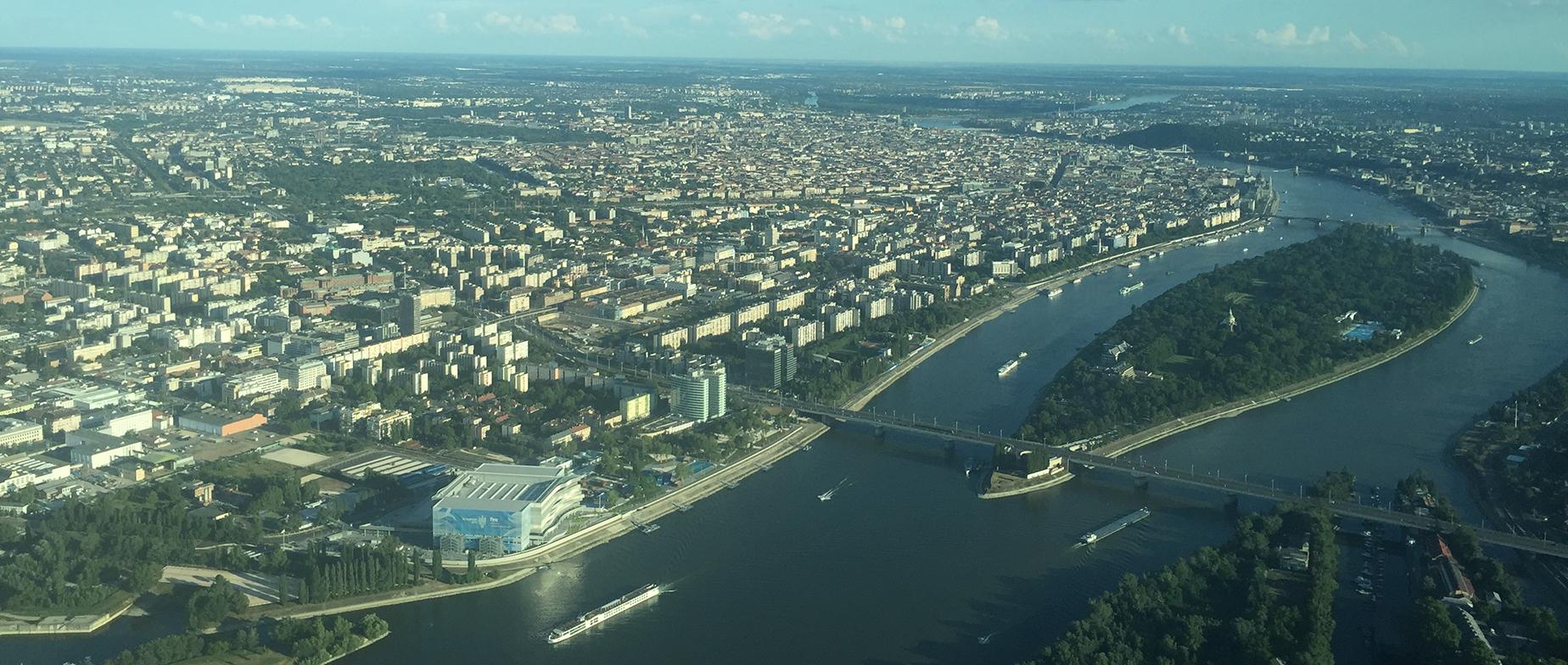 Sétarepülés Budakesziről Zsámbék vagy Budapest felé,  20 perc