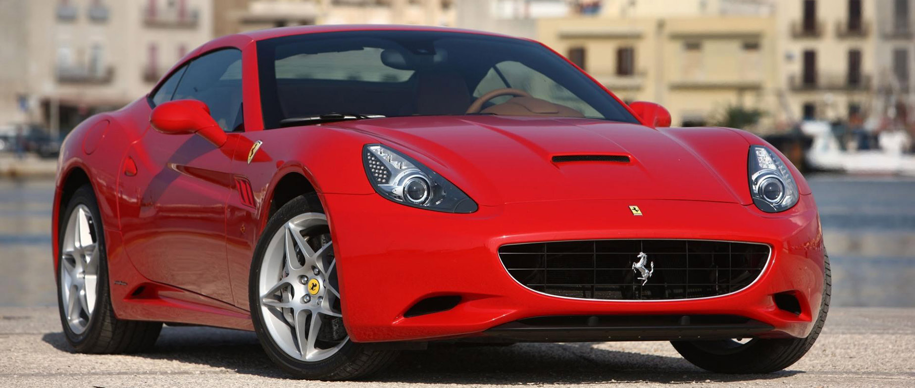Ferrari California élményautózás DRX Ringen