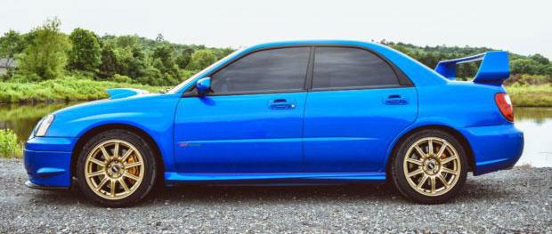 Subaru WRX-STI élményvezetés a DRX Ringen