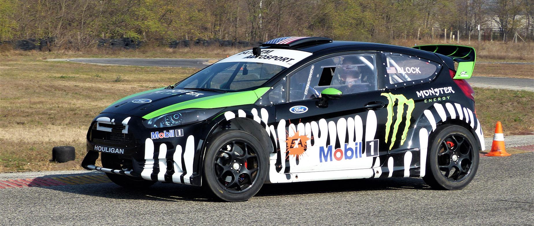 Ford Fiesta élményvezetés a Kakucsringen