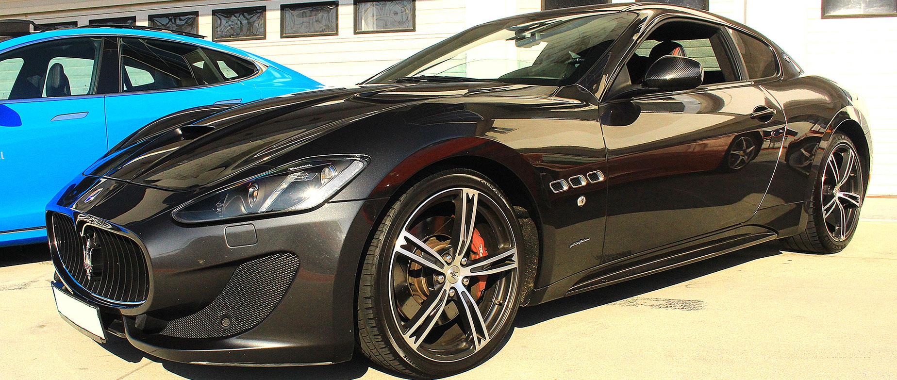 Maserati Granturismo élményvezetés a Kakucsringen