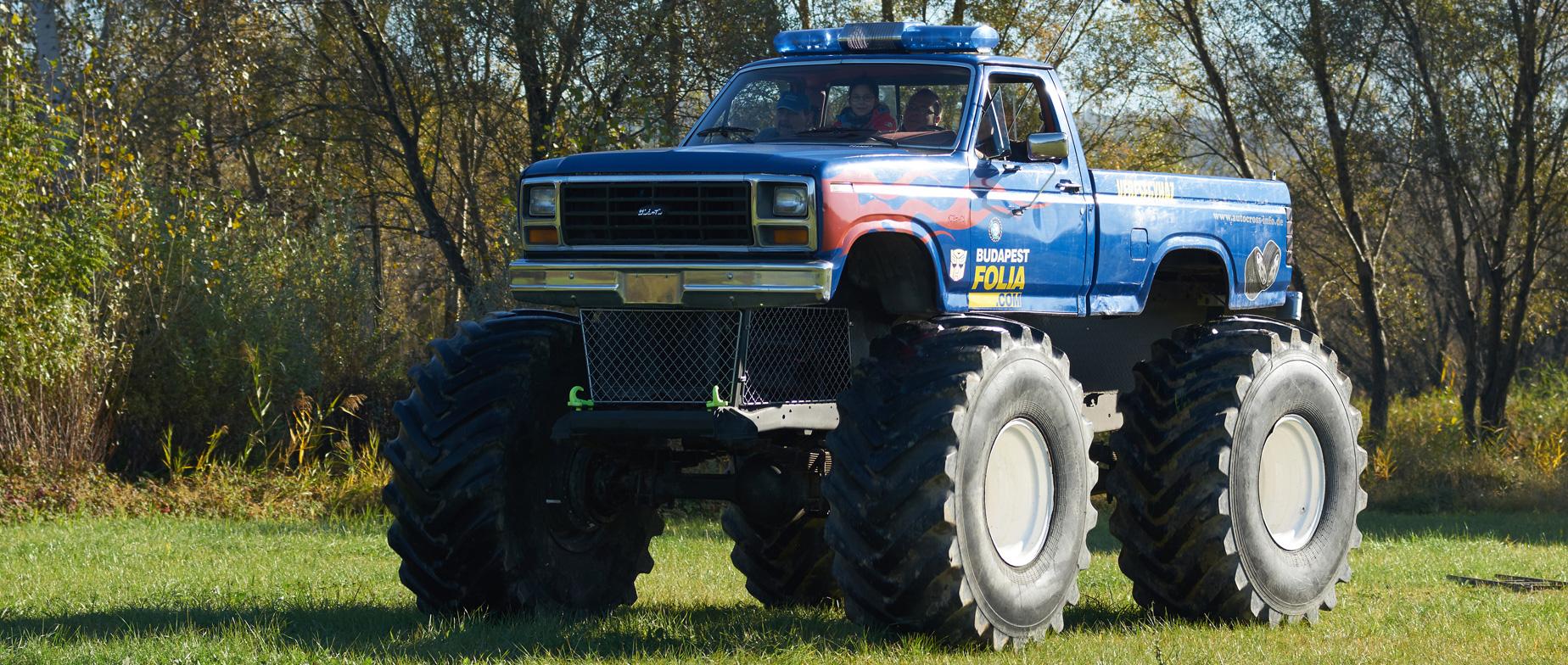 Monster Truck Ford F150 Bigfoot élményvezetés