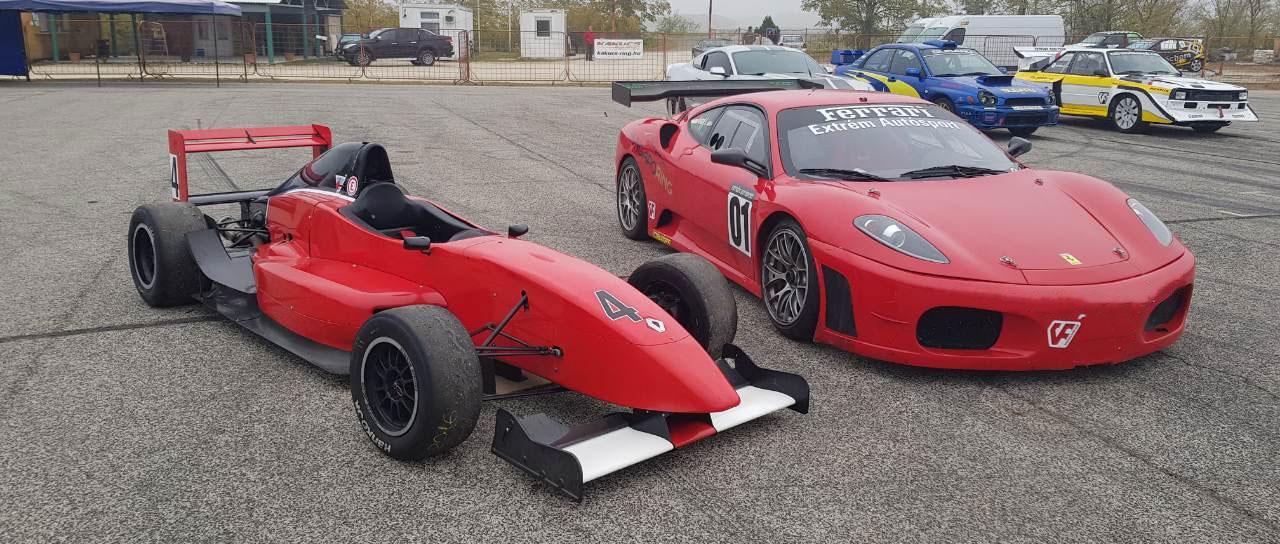 Versenyzői csomag, Ferrari 458 + Formula Renault élményvezetés az Euroringen