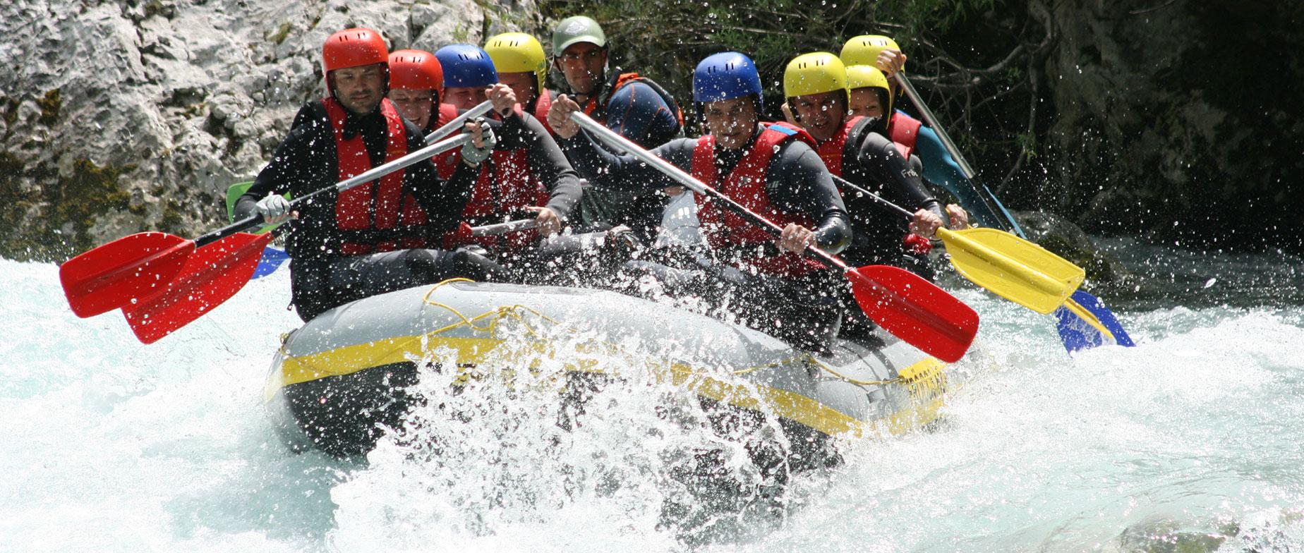 Rafting, canyoning túra Szlovéniában