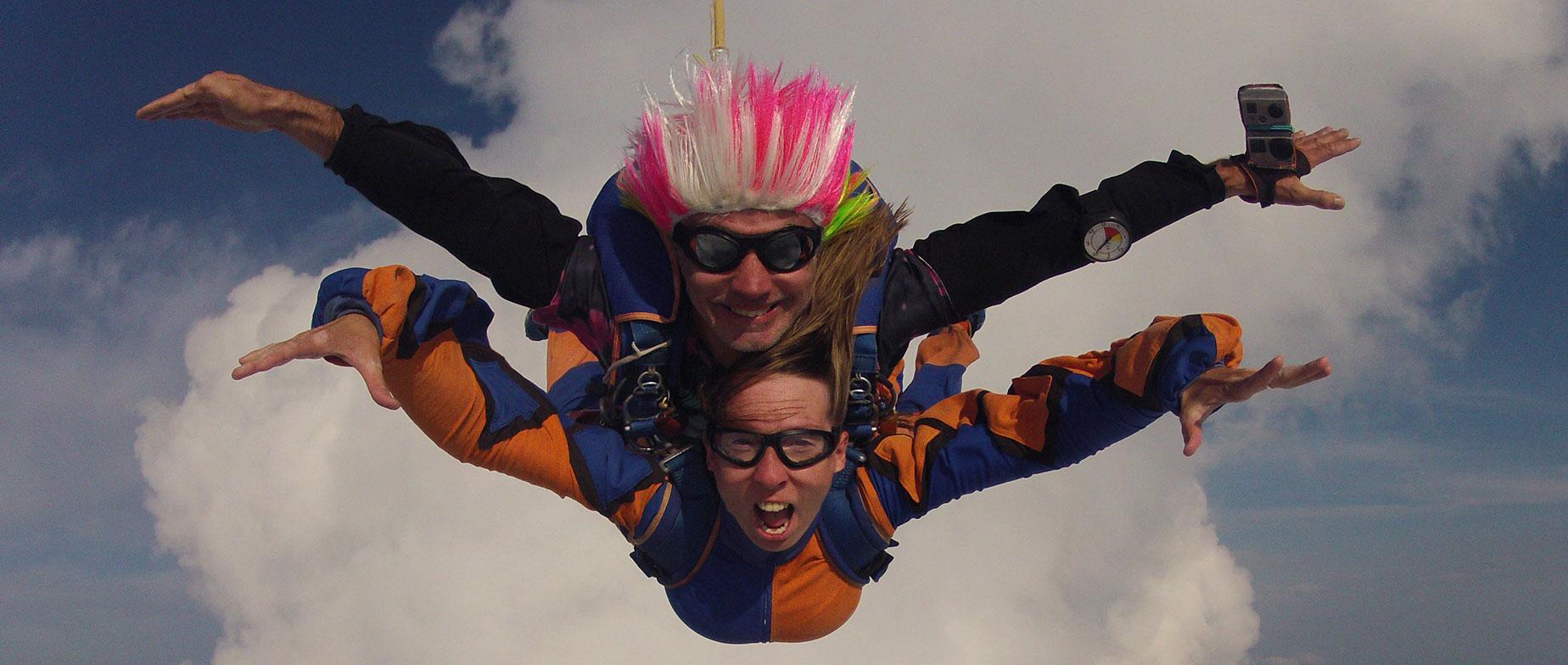Tandemugrás 4000 méter magasból