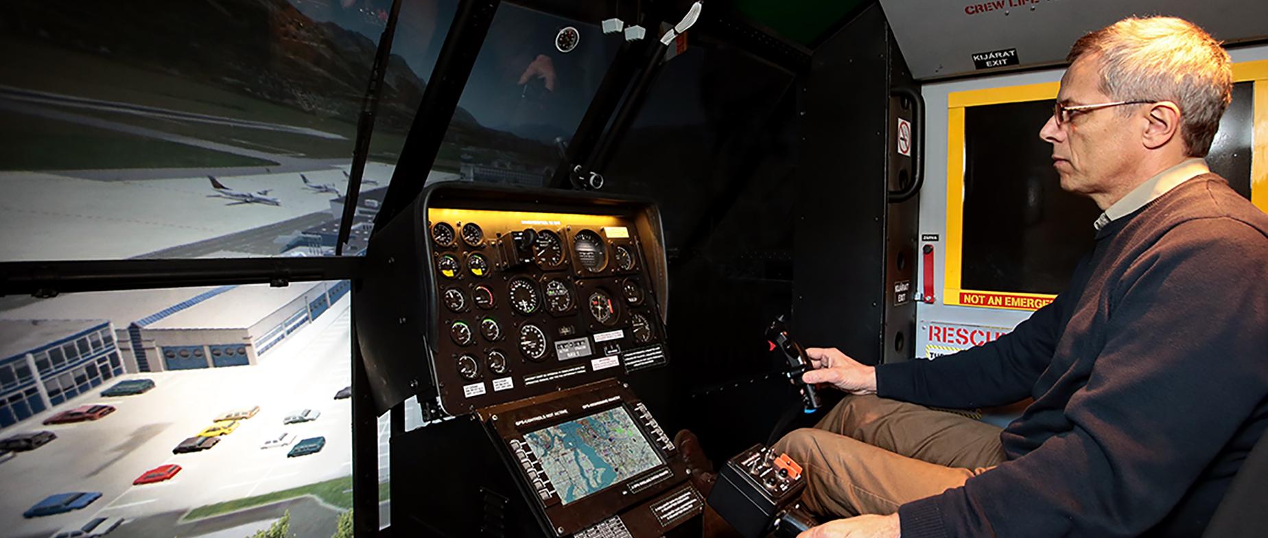 Helikopter szimulátor 2 főre