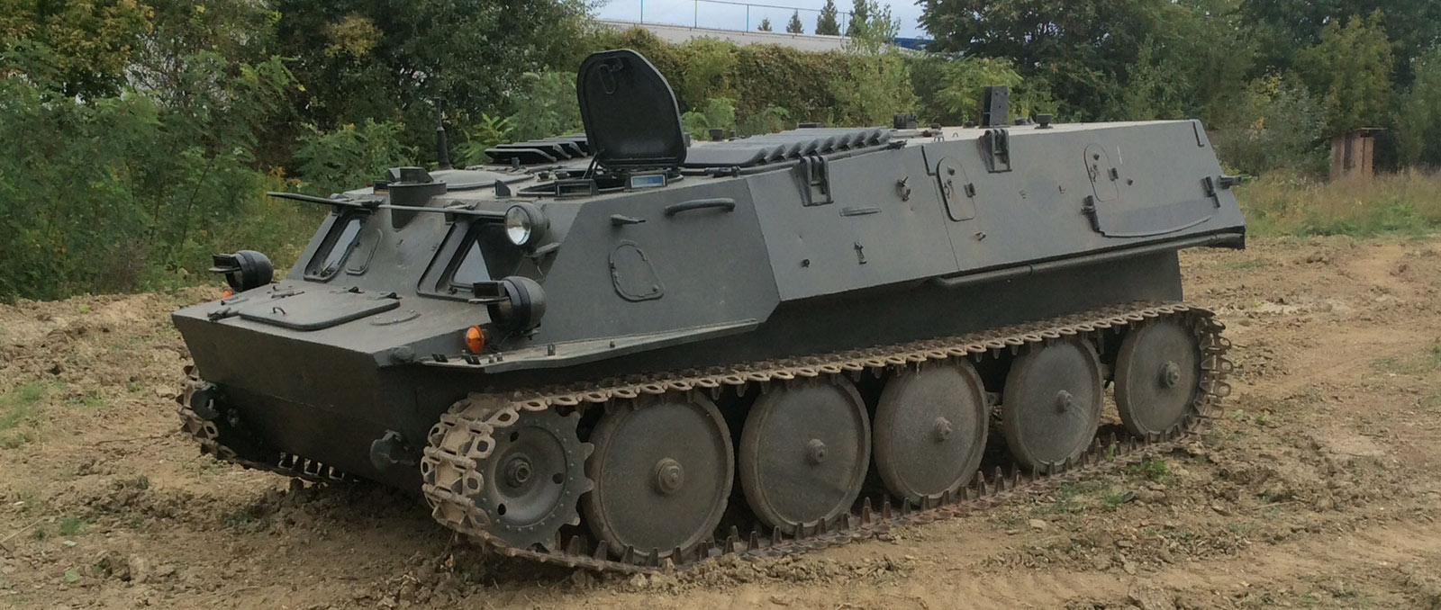 GTMU harci jármű vezetése