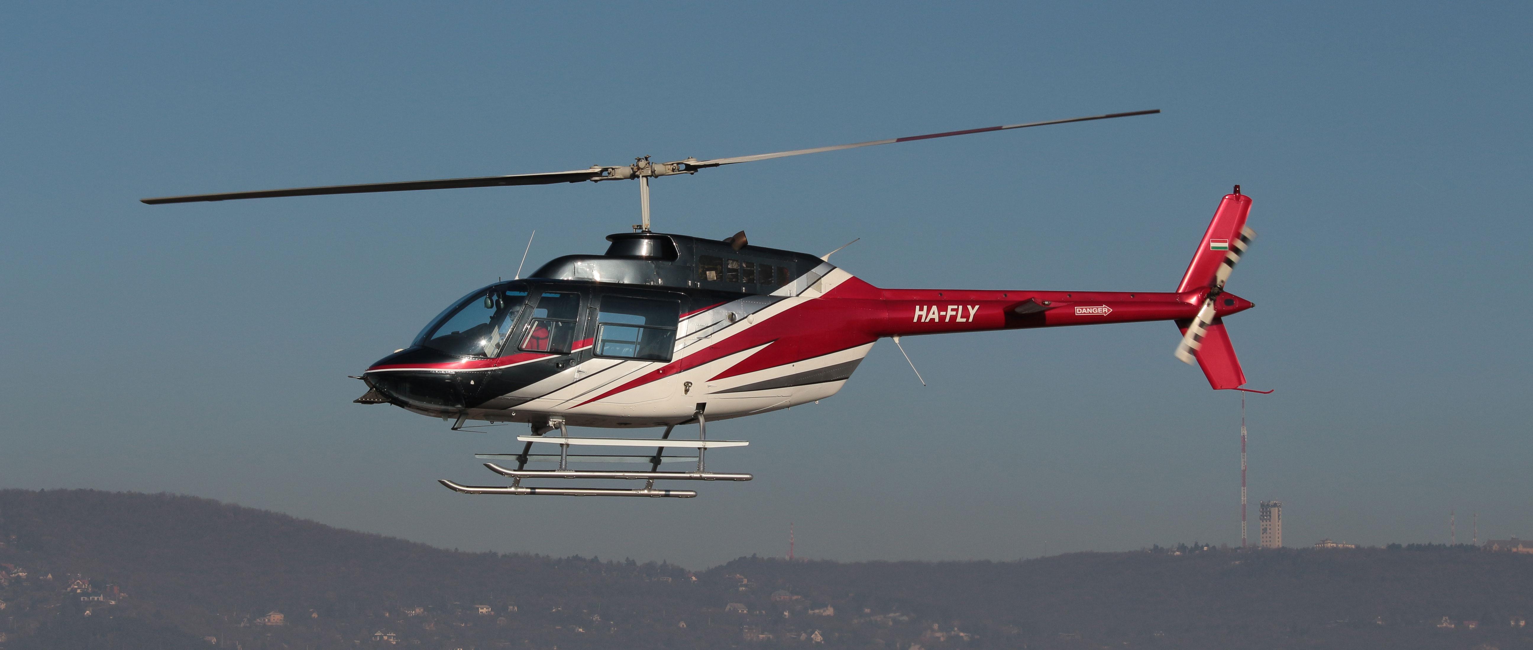 Sétarepülés Budapest felett helikopterrel 1-3 fő