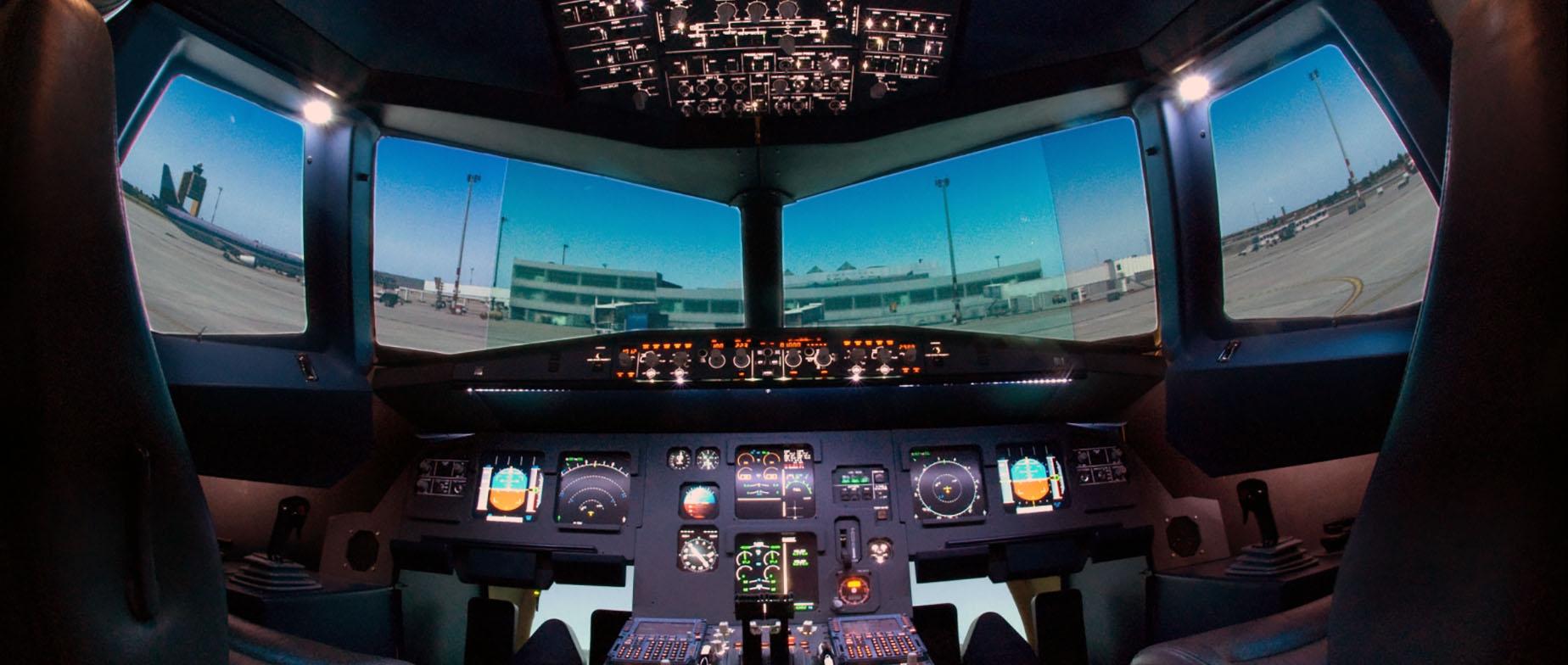Airbus repülőgép szimulátor