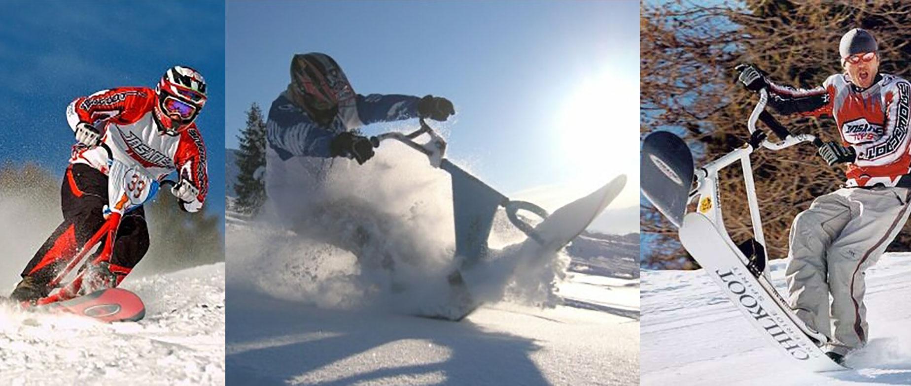 Snowscooterezés Normafán