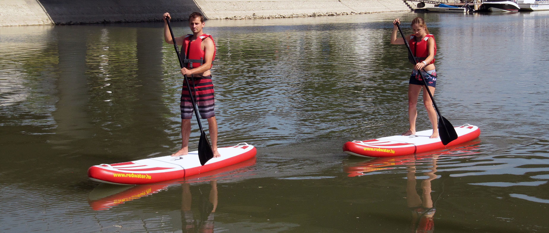 SUP (Stand Up Paddle) Győrben
