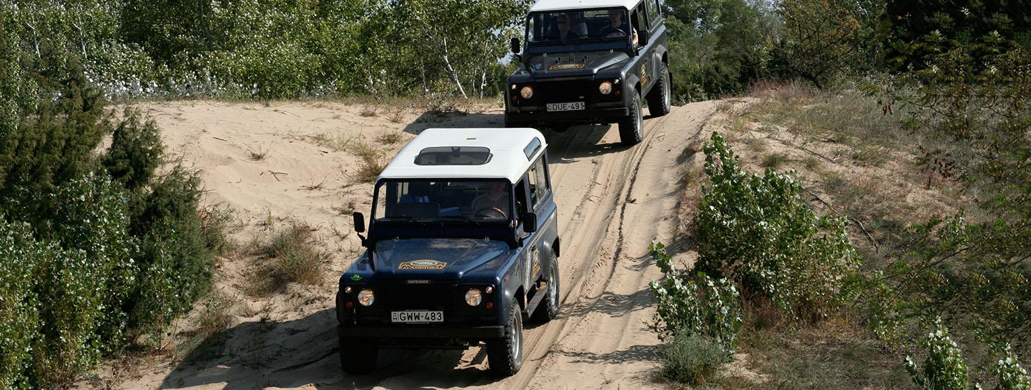 Land Rover  Defender off road túra