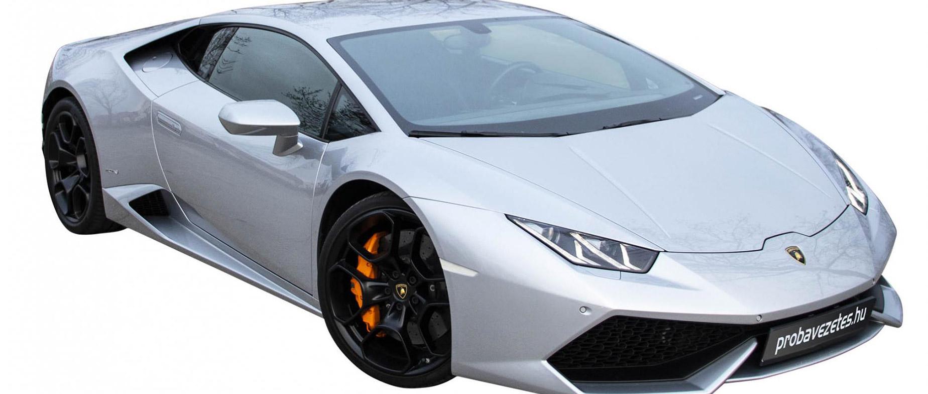 Lamborghini Huracán élményvezetés autópályán