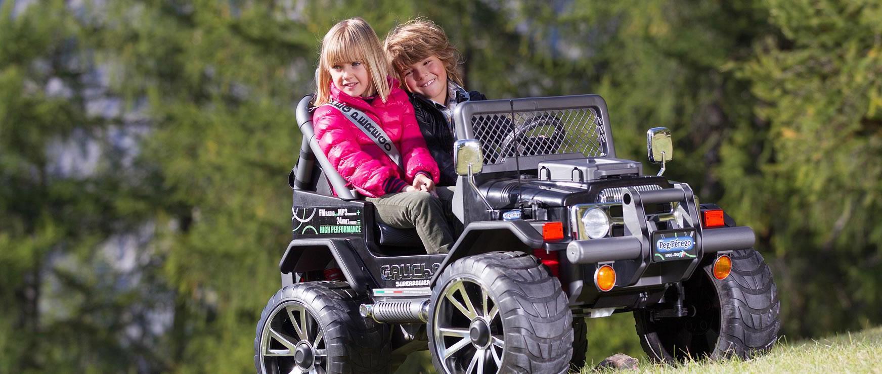 Elektromos mini terepjáró és quad túrák gyerekeknek, családoknak