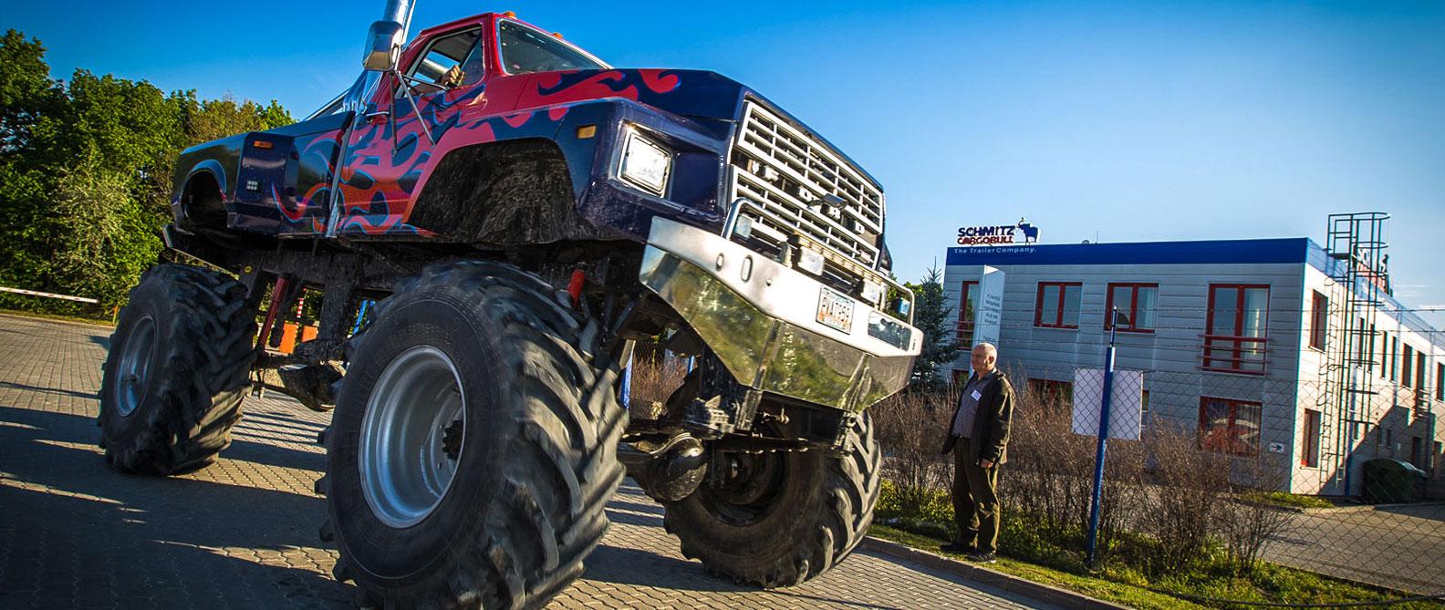 Monster Truck élményvezetés