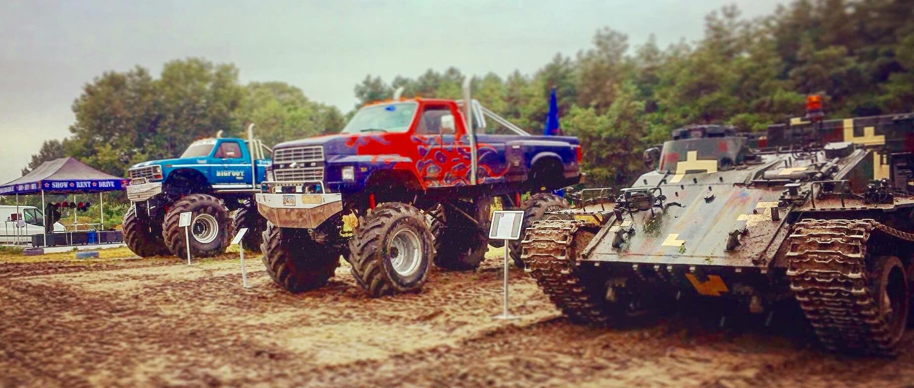 Monster Truck + VT55-ös Tank élményvezetés ajándékutalvány