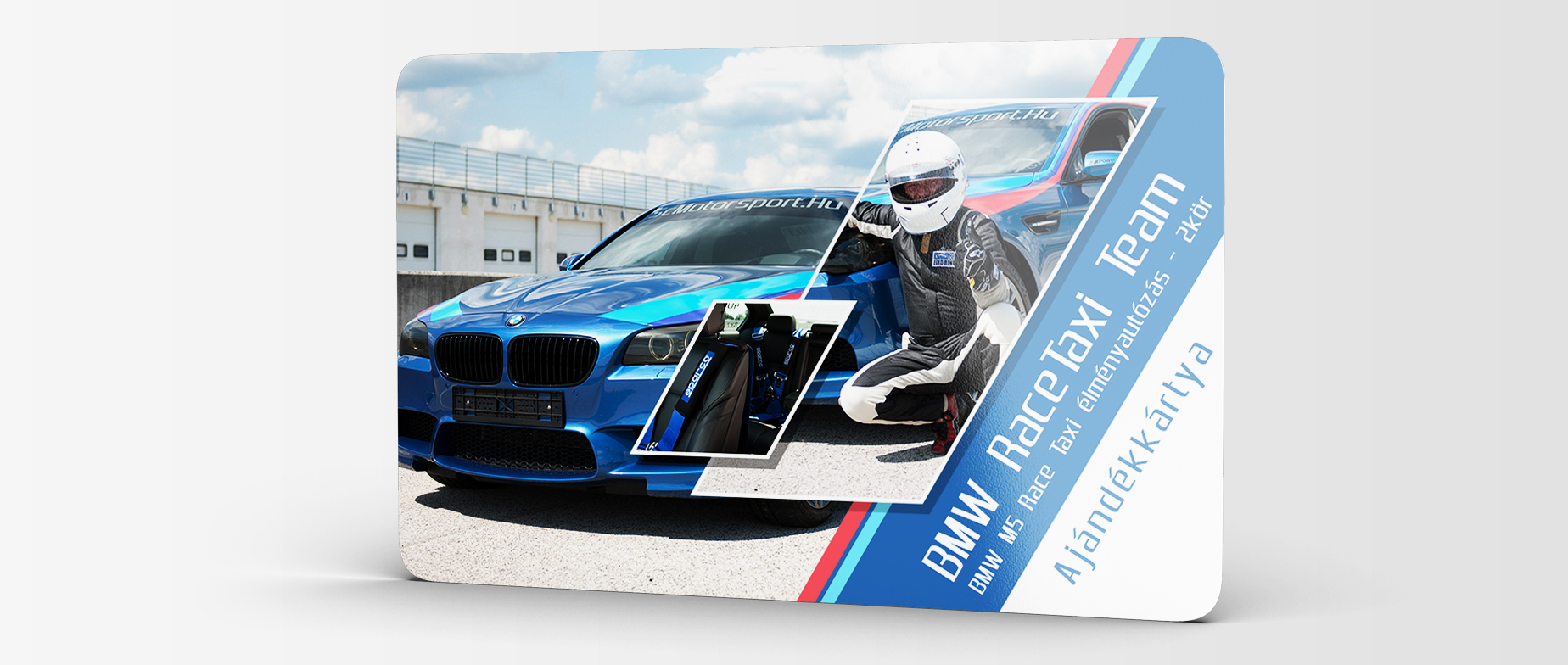 BMW M5 Race Taxi élményautózás utasként profi pilóta mellett Euroringen