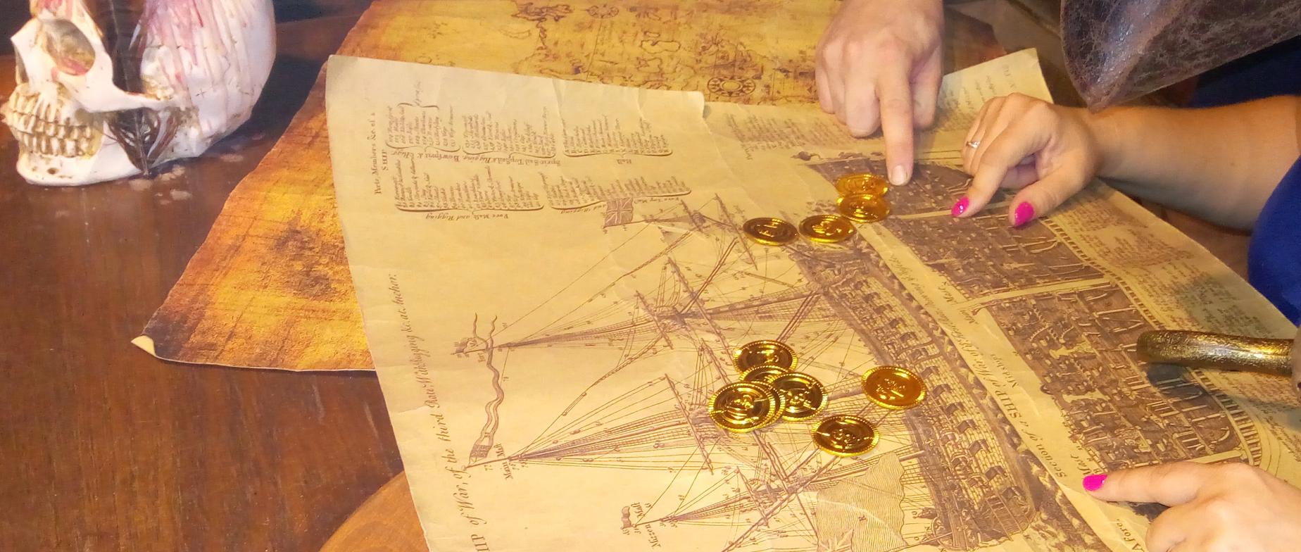 Anna királynő bosszúja, kalózszoba ajándékutalvány