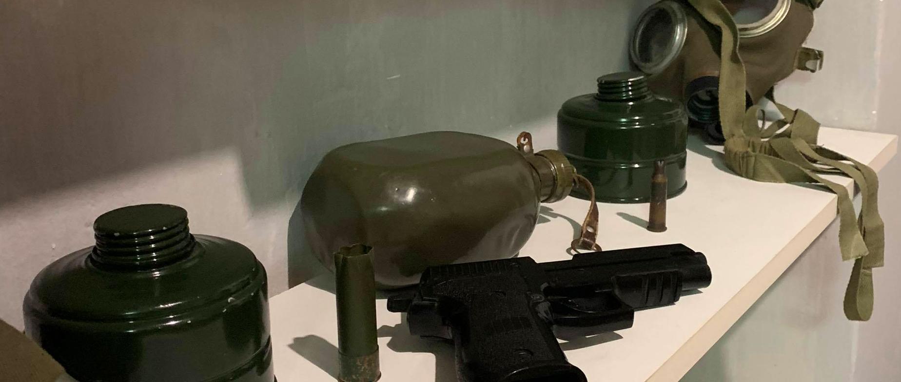 Titkos bunker, katonai szoba ajándékutalvány