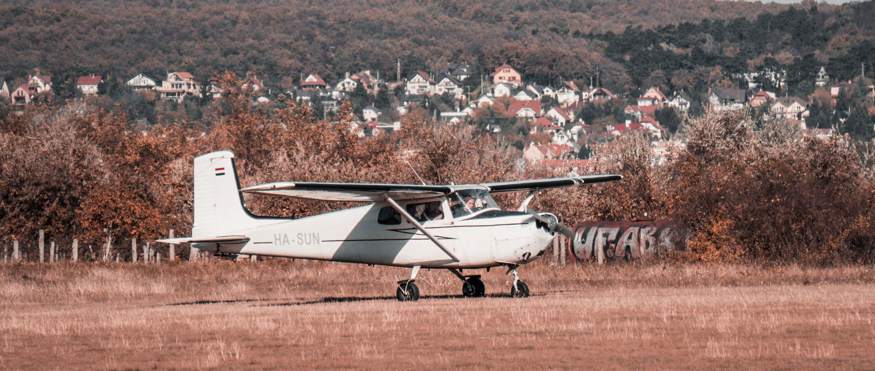 Sétarepülés Cessna C172K-val