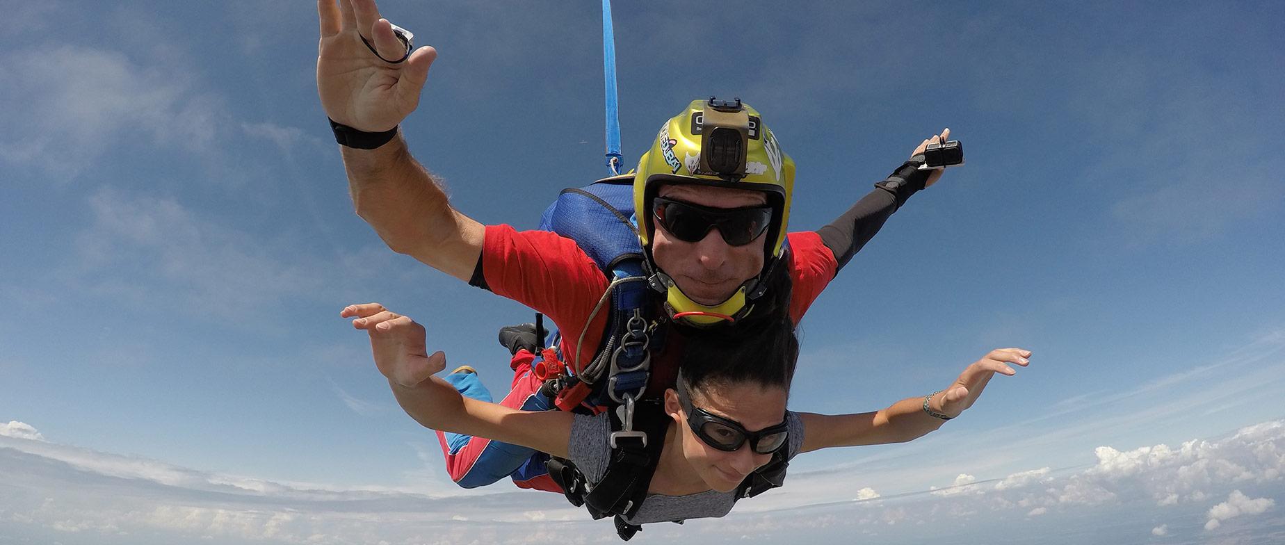 Tandemugrás 3500 méter magasból