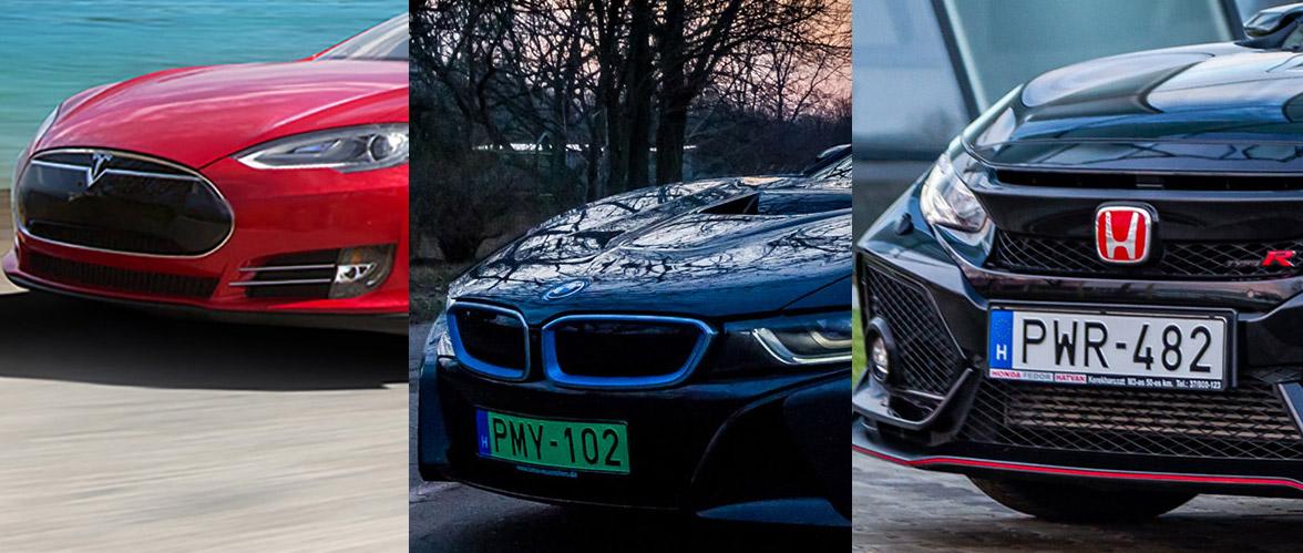 Tesla, Honda és BMW élményvezetés drónozással