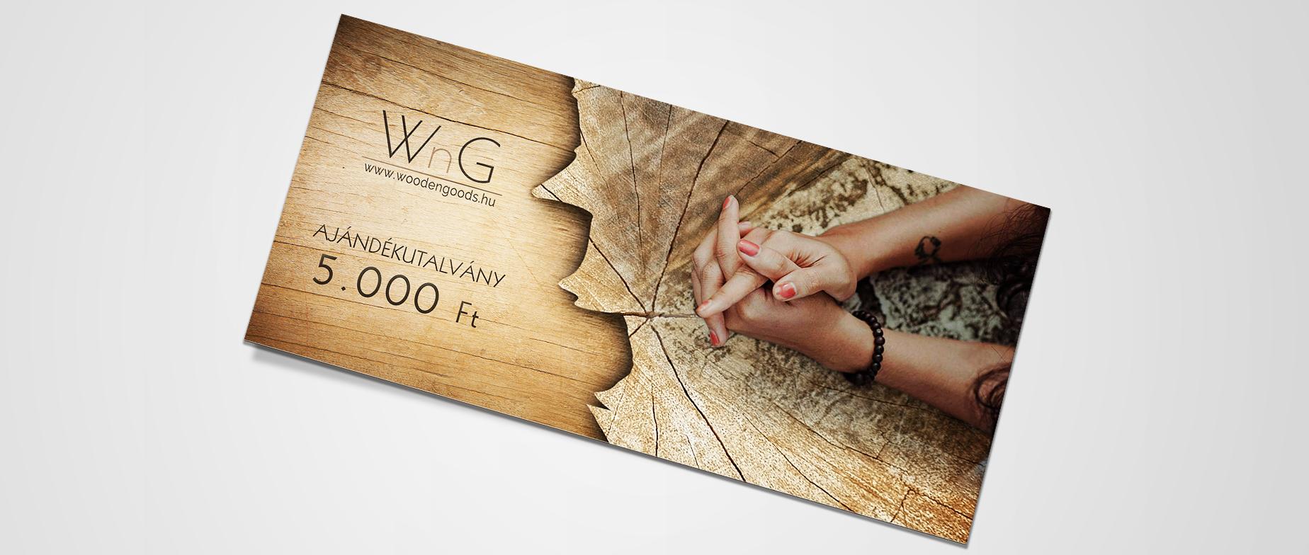 WoodenGoods ajándékutalvány