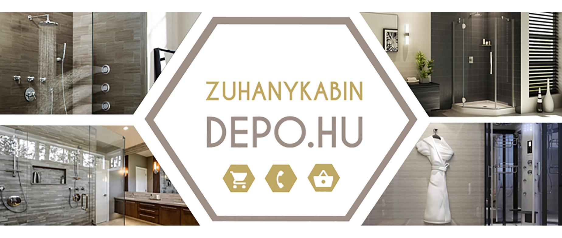 Zuhanykabin Depo webáruház ajándékkártya